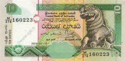 10 Rupees SRI LANKA  2004 P.115b NEUF