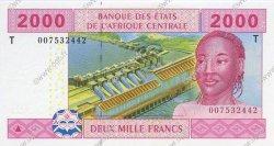 2000 Francs CONGO  2002 P.108T NEUF