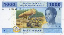 1000 Francs GABON  2002 P.407A NEUF