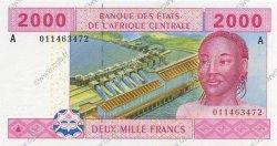 2000 Francs GABON  2002 P.408A NEUF