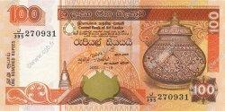 100 Rupees SRI LANKA  2005 P.118c NEUF