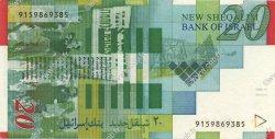 20 Nouveaux Sheqalim ISRAËL  1998 P.59a NEUF