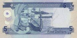 5 Dollars ÎLES SALOMON  2006 P.26 NEUF