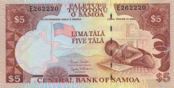 5 Tala SAMOA  2002 P.33b NEUF