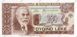 200 Leke ALBANIE  1994 P.56a NEUF