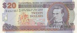 20 Dollars BARBADE  2000 P.63 NEUF