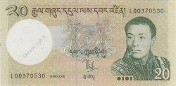 20 Ngultrum BHOUTAN  2006 P.30a NEUF