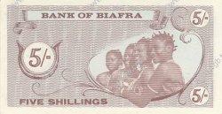 5 Shillings BIAFRA  1967 P.01 NEUF