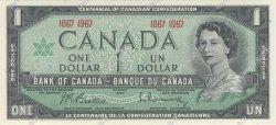 1 Dollar CANADA  1967 P.084a pr.NEUF