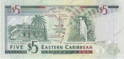 5 Dollars St. Vincent CARAÏBES  1994 P.31v NEUF