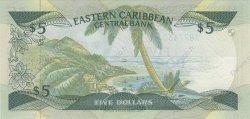5 Dollars Antigua CARAÏBES  1986 P.18a NEUF