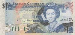 10 Dollars CARAÏBES  1993 P.27a NEUF