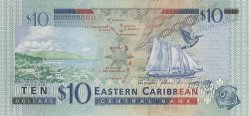 10 Dollars CARAÏBES  2003 P.43g NEUF