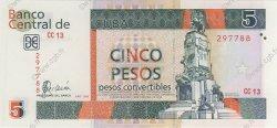 5 Pesos CUBA  2006 P.FX48 NEUF