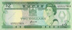 2 Dollars FIDJI  1995 P.090a NEUF