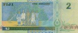 2 Dollars FIDJI  2002 P.104a NEUF