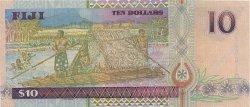10 Dollars FIDJI  2002 P.106a pr.NEUF