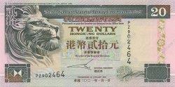 20 Dollars HONG KONG  2001 P.201d NEUF
