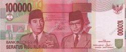 100000 Rupiah INDONÉSIE  2005 P.146b pr.NEUF