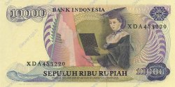 10000 Rupiah INDONÉSIE  1985 P.126a NEUF