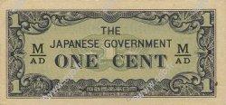 1 Cent MALAYA  1942 P.M01b pr.NEUF