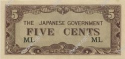 5 Cents MALAYA  1942 P.M02a pr.NEUF