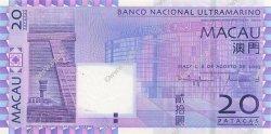 20 Patacas MACAO  2005 P.081 NEUF