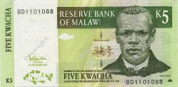 5 Kwacha MALAWI  2005 P.36c NEUF