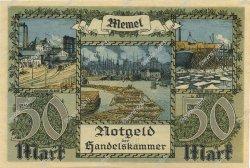 50 Mark MEMEL  1922 P.07a pr.NEUF