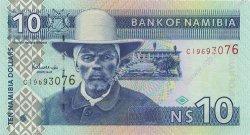 10 Dollars NAMIBIE  2001 P.04a NEUF
