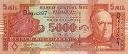 5000 Guaranies PARAGUAY  2005 P.223a NEUF