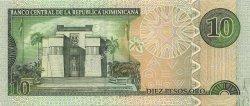 10 Pesos Oro RÉPUBLIQUE DOMINICAINE  2003 P.168a NEUF