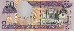 50 Pesos Oro RÉPUBLIQUE DOMINICAINE  2004 P.170a NEUF