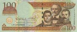 100 Pesos Oro RÉPUBLIQUE DOMINICAINE  2004 P.171a NEUF