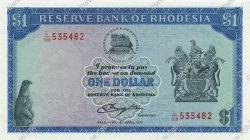 1 Dollar RHODÉSIE  1979 P.30c pr.NEUF