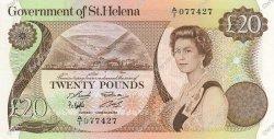 20 Pounds SAINTE HÉLÈNE  1986 P.10a pr.NEUF
