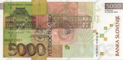 5000 Tolarjev SLOVÉNIE  2004 P.33b NEUF