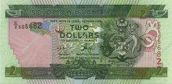 2 Dollars ÎLES SALOMON  2007 P.31 NEUF