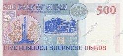 500 Dinars SOUDAN  1998 P.58b NEUF