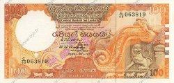 100 Rupees SRI LANKA  1989 P.099 NEUF