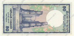 50 Rupees SRI LANKA  1989 P.098 NEUF