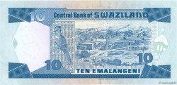 10 Emelangeni SWAZILAND  1995 P.24a NEUF