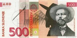 500 Tolarjev SLOVÉNIE  2001 P.16b NEUF