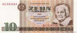 10 Mark ALLEMAGNE  1971 P.028a NEUF