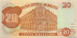 20 Bolivianos BOLIVIE  1995 P.219 NEUF