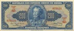 200 Cruzeiros BRÉSIL  1961 P.171a NEUF