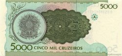 5000 Cruzeiros BRÉSIL  1990 P.227 NEUF