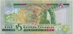 5 Dollars CARAÏBES  2003 P.42k NEUF