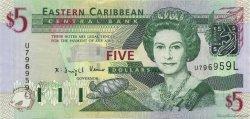5 Dollars Ste Lucie CARAÏBES  2003 P.42l NEUF