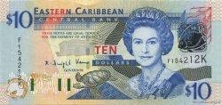10 Dollars St. Kitts CARAÏBES  2003 P.43k NEUF